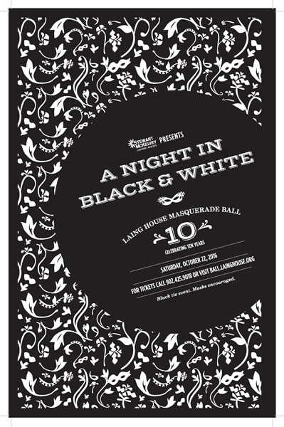An Evening of Black and White